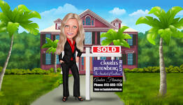 Realtor Caricature example 31