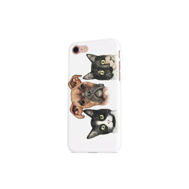 Pets Caricature Printed on Phone Case