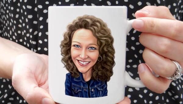 Order photo mug