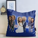 Caricature Cushion example 1