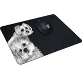 Dogs Portrait on Printed Mouse Pad