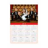 Group Wedding Caricature for Wedding as Calendar Gift