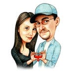 Caricatures Saint Valentin example 32