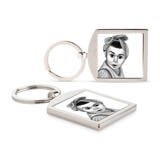 Kid Portrait from Photos as Printed Keyrings