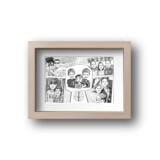 Family Collage Caricature as Poster
