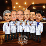 Doctor caricatura example 6