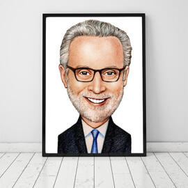Poster with Corporate Caricature
