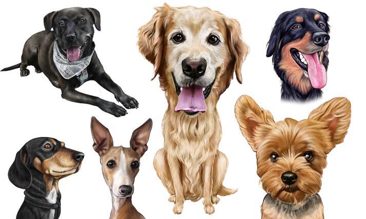 Dog Cartoon large example
