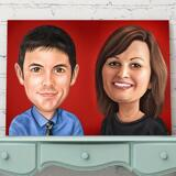 Corporate Caricature on Canvas
