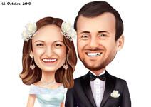 Bruiloft karikaturen example 27