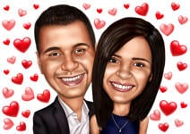 Caricatures Saint Valentin example 27