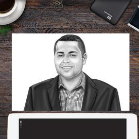 Corporate Portrait on poster