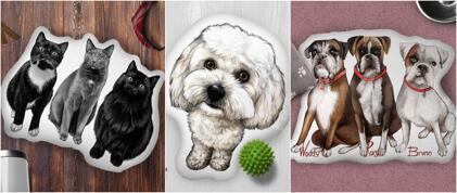 Almofada Pet Custom Shape
