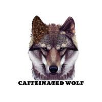 Пользовательский мультяшный портрет волка, нарисованный вручную в цветном стиле с фотографии