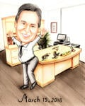 Boss Day Caricature example 10
