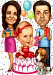 Kids Caricatures example 3