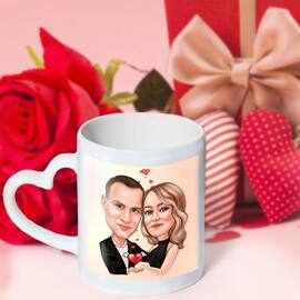 Love Mug Caricature