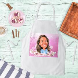 Mother's Day Caricature Apron