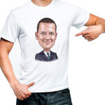 Caricature T-Shirt example 13