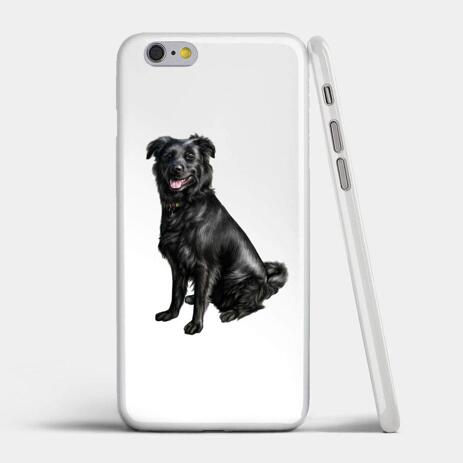 Dog Caricature Printed on Case - example