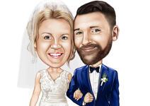 Bruiloft Teddy karikatuur example 20