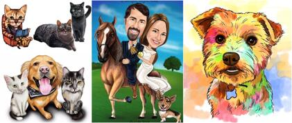 All Pets Caricatures
