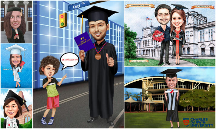 Graduation Karikaturer large example