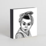 Kid Portrait from Photos as Printed Photo Block