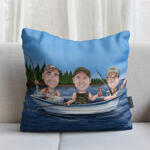 Caricature Cushion example 18