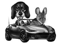 Pets Caricatures example 36