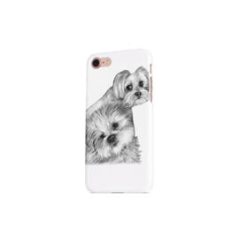 Dogs Portrait on Printed Phone case