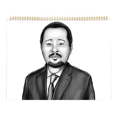 Corporate Portrait on Calendar - example