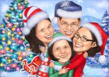 بطاقات عيد الميلاد مخصصة example 15