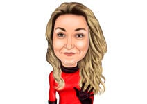 Custom Caricature example 21