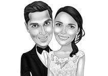 Wedding Caricature Poster example 6