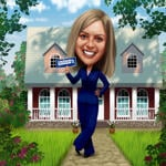 Realtor Caricature example 9