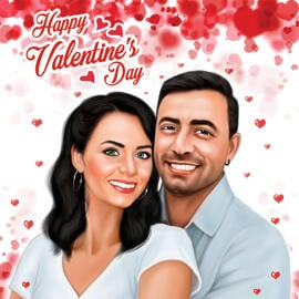 Valentines Day Caricatures