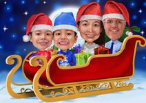 بطاقات عيد الميلاد مخصصة example 5