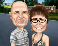 Custom Caricature example 2