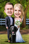 Wedding Caricatures example 11