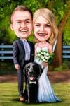 結婚式の風刺画 example 11