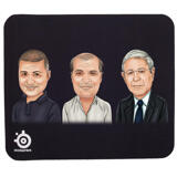 Corporate Group Caricature on Mouse Pad
