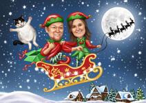 بطاقات عيد الميلاد مخصصة example 16