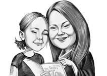 Caricatura do Dia das Mães example 22