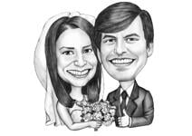 Wedding Caricature Poster example 1