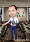 Caricatures for Business example 10