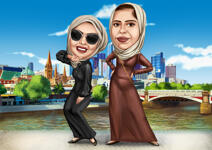 Custom Caricature example 10