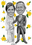 Wedding Caricatures example 26