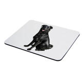 Dog Caricature Printed on Mouse Pad