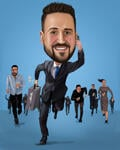 Caricature Business Card example 20